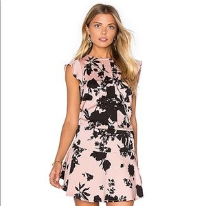 Karina Grimaldi Kaiya Print Mini Dress